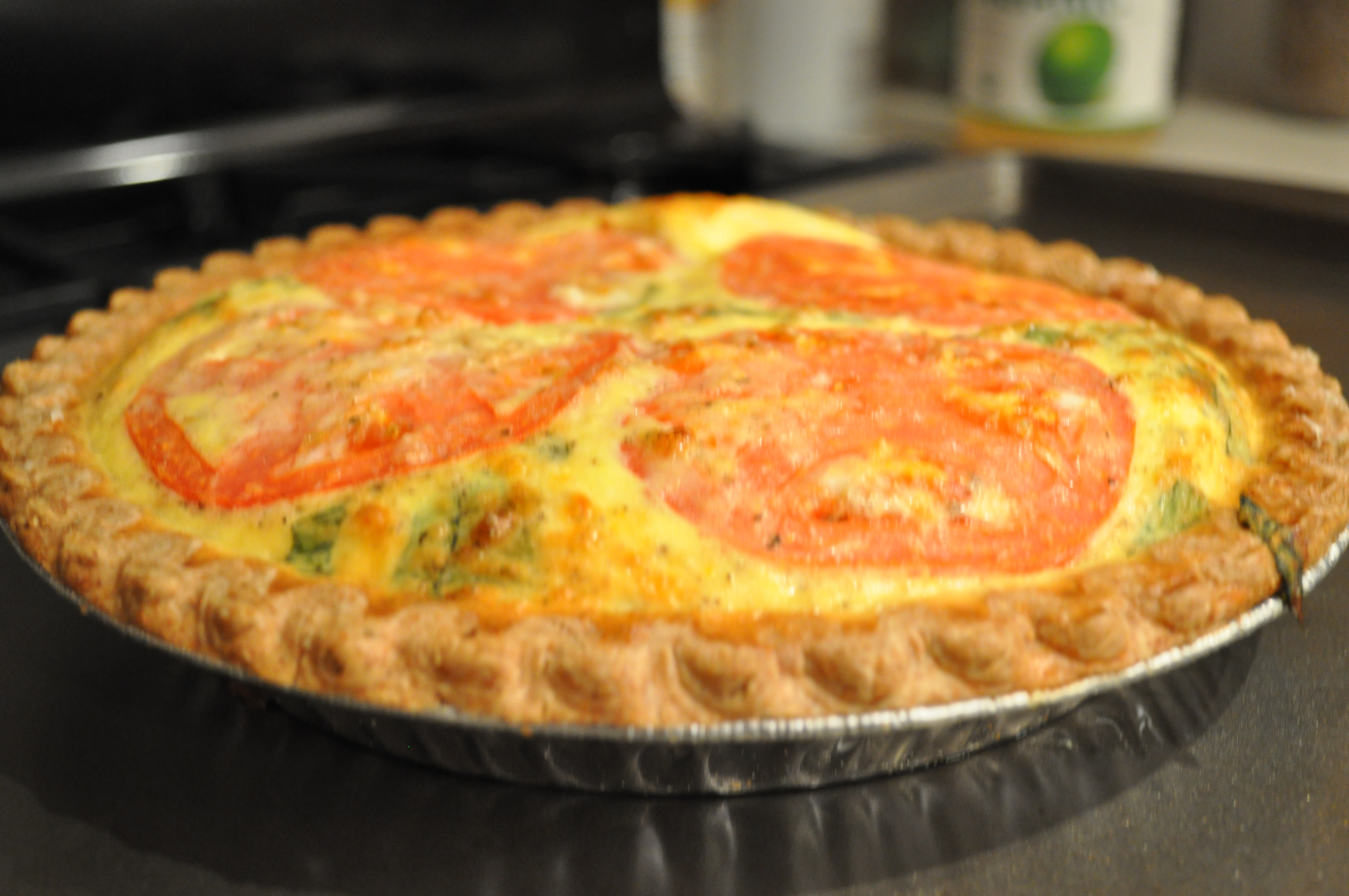 Image Gallery onion and cheddar quiche
