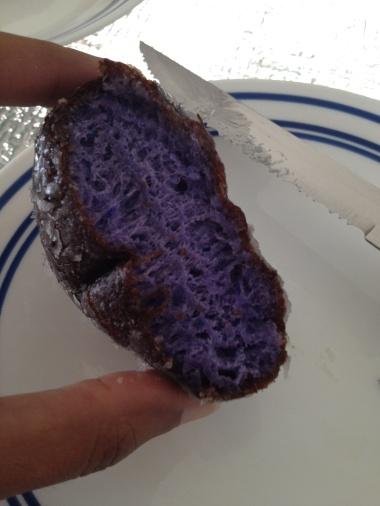 taro doughnut